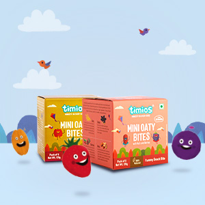 Oats, Chewy Bites for 18 month old Babies, Apple, Kiwi,Timios,Nuts,Berries, 100% natural ingredients