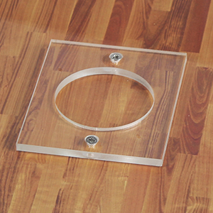 acrylic mold base for stability