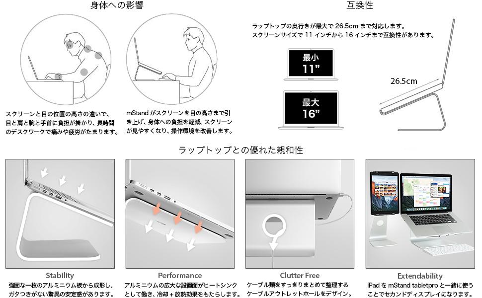 Rain Design mStand 360 by Elise Japan