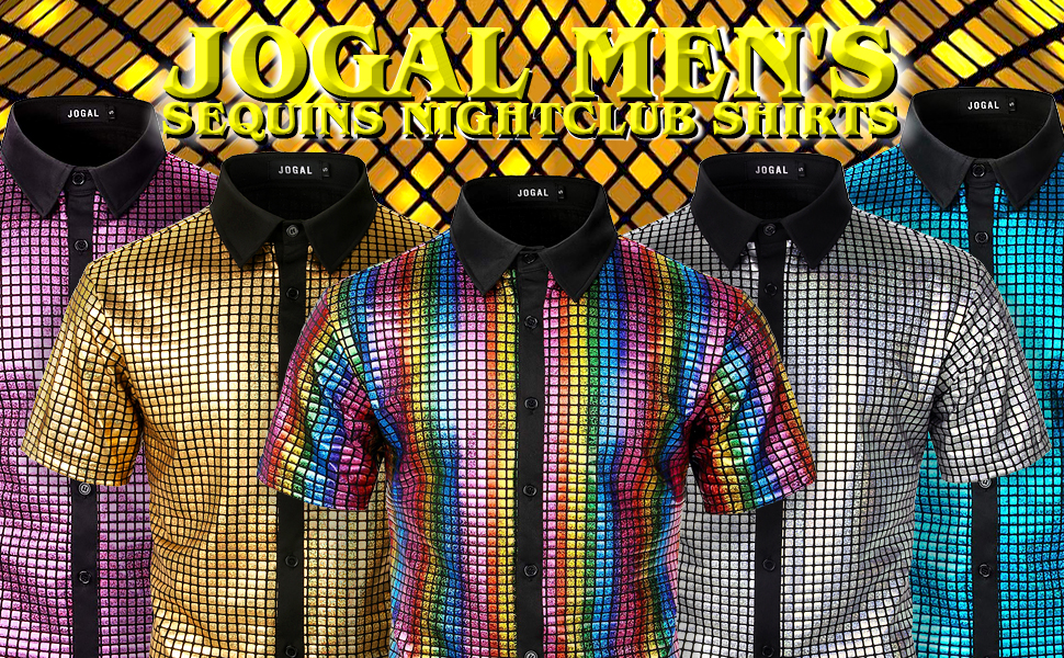 mens disco shirts