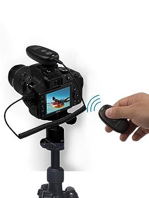 AODELAN Wireless Remote Control Camera Shutter Release