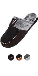 fur moccasins slipper