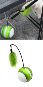 Feather Rolling Ball Toy product photo