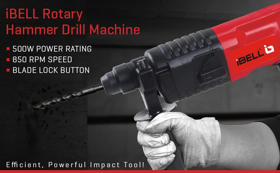 IBELL   Rotary Hammer Drill Machine