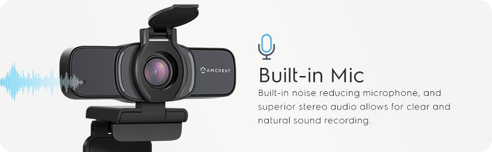 Built-in mic