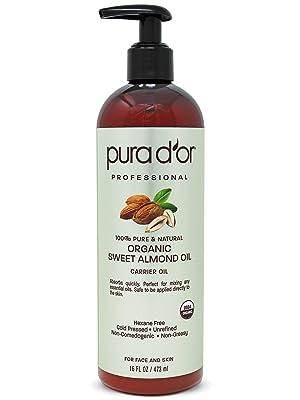 organic almond oil