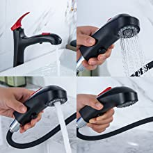 Multi-Function Faucet Spray Head