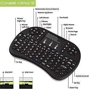 smart tv smart tv mini keyboard wireless remote with curser smart tv remote with air mouse
