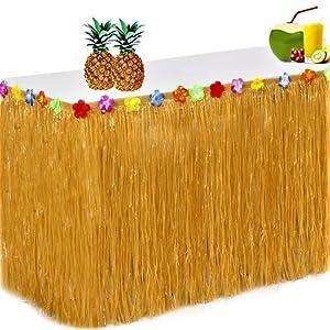 King Luau Hawaiian Table Skirts