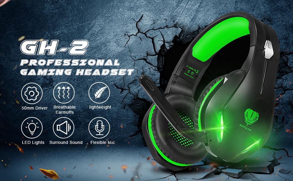 gaming headset for Men Women Kids Teens