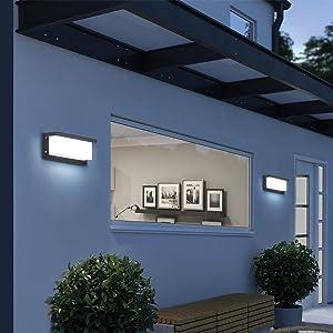 pared corredor en Moda LED Iluminación pared fuera en Moda LED Iluminación pared impermeable en Moda