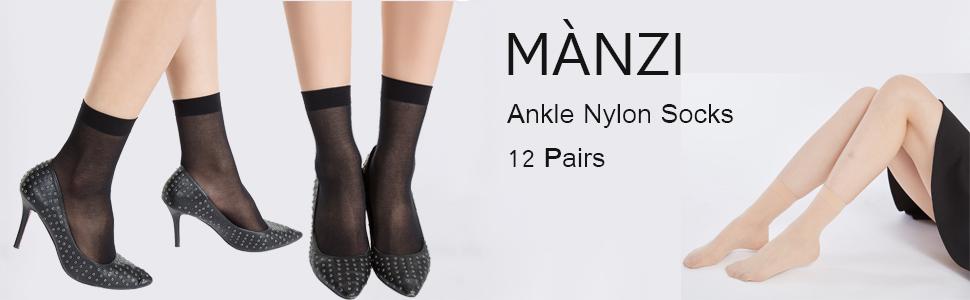 Manzi Knöchelhohe Socken