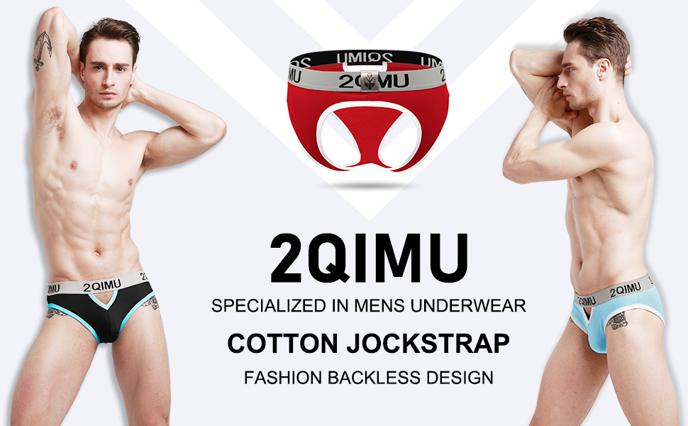 Cotton Athletic Supporter Jockstraps for Men Mens Jockstrap Underwear Wide Waistband Briefs