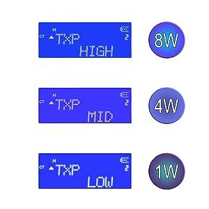 tri power tripla potenza 8 4 1 w 8w 1w 4w