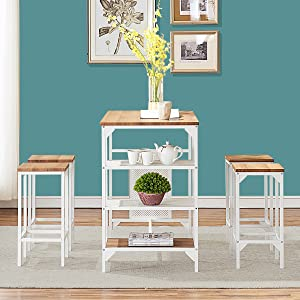 bar height dining table set counter height dining set