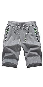 mens shorts elasticated waist