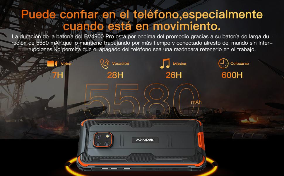 5580mAh Batería