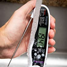 Digital Instant Read Meat Thermometer - Best Meat Thermometer for Cooking, Waterproof with Backlight