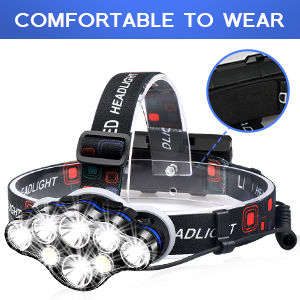 comfortable and adjustable