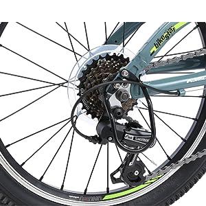 BIKESTAR Bicicleta de montaña de Aluminio Bicicleta Juvenil 24 ...