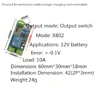 Charging Protection Free Shipping New Board Storage Battery Unde