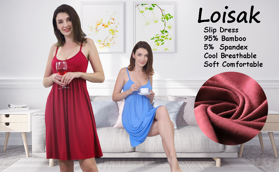 Loisak slip dress