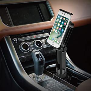 Universal Car Cup iPad Mount w//Swivel Arm Extendable Clamp for Devices with 4-10.5 inch Display Ideal for Apple iPad iPhone Samsung Uber Lyft Drivers TNP Products CAR/_CUP/_MNT/_CM06USM TNP Cup Mount Holder for Tablet and Smartphone