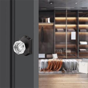 diamond glass door lock