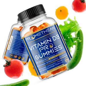 energy, vitamin d dummies, high dose, high potency, immune support Pro Gummies