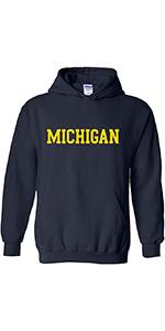 NCAA Basic Block Adult Hooded Sweatshirt
