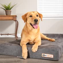 Made in USA! Big Barker Jr Orthopedic Large Dog Bed