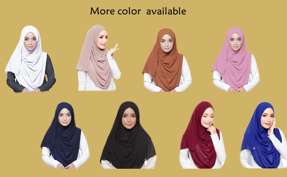 Fashion women scarf white khaki orange pink navy blue black maroon royal blue more color available