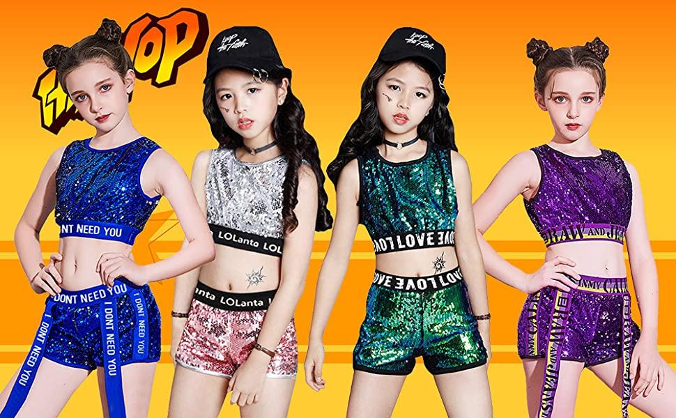 traje de baile para niñas