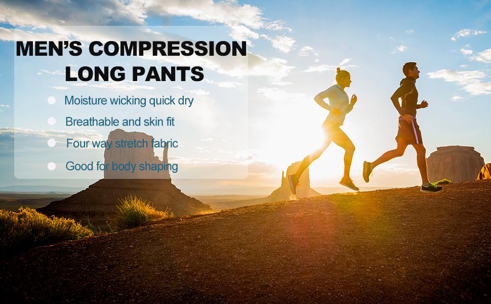 men's pants compression legging