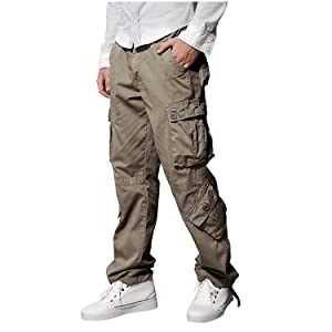 Matchstick Mens Casual Cargo Trousers #6531