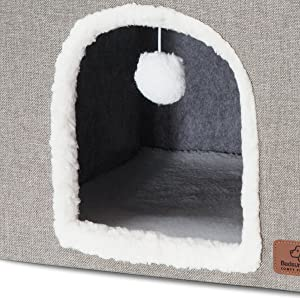 bedsure | 8.5''cave for freely access