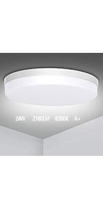 lumiere plafond Lampe Plafond 36W Lampe de Plafond LED Moderne  carré LED Lampe de plafond