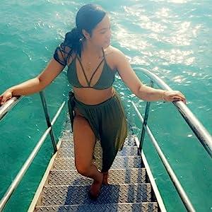 bikini swimsuit with skirt