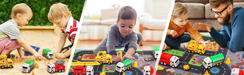 Die-cast toy cars