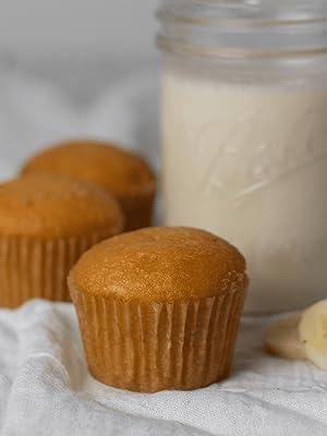 Keto and Co Banana Caramel Muffins
