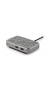 moshi porto q power bank wireless charger portable battery wireless charging