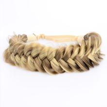 Wide 2 Strands Braided Headband
