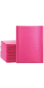pink bubble mailers