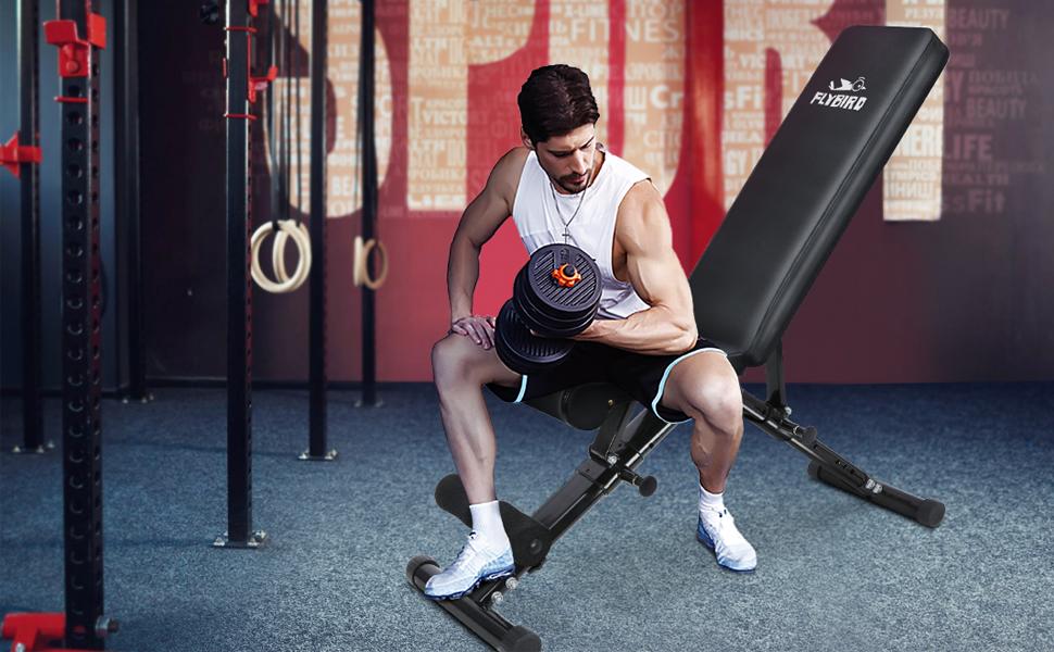 600 lbs echte gewicht capaciteit verstelbare gewicht bank