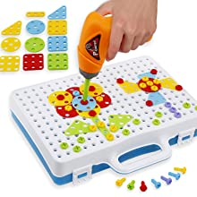 Drilling screw toys for kids
