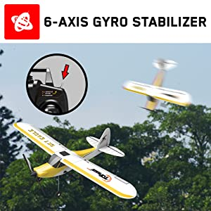 6 Axis Gyro Built in Stabilizer