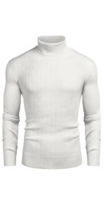 Men's turtleneck sweaters