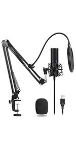 usb microfono
