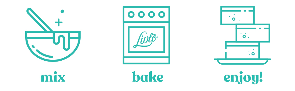 just mix bake and enjoy keto brownies