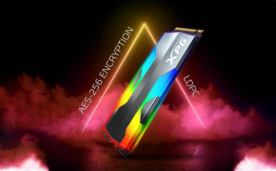 SPECTRIX S20G PCIE SSD RGB LDPC